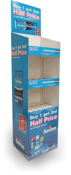 Cardboard Displays For Sun Care Of Life Brand Display Pinterest Unique Cardboard Display Stands Uk