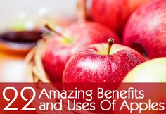 We all know an apple a day keeps the doctor away, but why? Here are 22 ways apples can benefit your health!