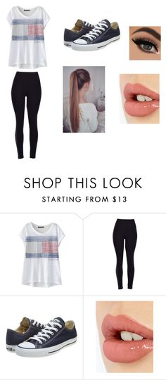 """""""Daily"""" by fashionista-dxliv on Polyvore featuring Converse, Charlotte Tilbury, women's clothing, women, female, woman, misses, juniors and casual"""