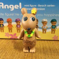 2015-Sonny Angel Hawaii Beach series Robby Sonny Angel, Hawaii Beach, Kewpie, Pikachu, Angels, Animation, Japanese, Dolls, Mini