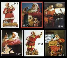 Coca Cola Christmas cards (featuring the real Santa :-) - Bing Images Coca Cola Santa, Coca Cola Christmas, Coca Cola Ad, Christmas Ad, Christmas Pictures, Vintage Christmas, Christmas Posters, Pepsi, Vintage Coca Cola