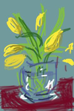 David Hockney, Untitled 91. See The Virtual Artist gallery: www.theartistobjective.com/gallery.html