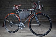 The next biking project will be a long range touring bike and it will look something like this.
