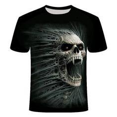 Skull Screaming T-Shirt | Skullflow Best Online Shopping Sites, Smart Men, Skull Shirts, Grim Reaper, Ghost Rider, Shirt Price, Printed Shirts, Casual Shirts, T Shirt