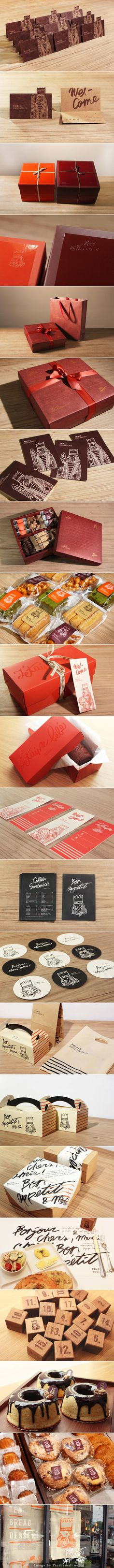 Palais Boulangerie this is awesome #branding #packaging unfortunately I cannot find the source. PD