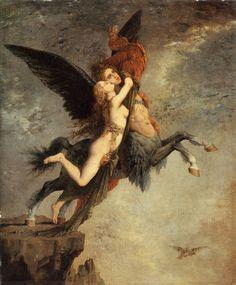 Gustave Moreau (1826-1898)  The Chimera