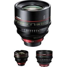 Canon Cinema Prime lens kit