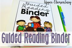 Guided Reading Binder for Upper Elementary {Free Forms} (Teaching with Jennifer Findley) Guided Reading Template, Guided Reading Binder, Guided Reading Groups, Reading Notes, Reading Centers, Reading Workshop, Student Reading, Reading Skills, Teaching Reading