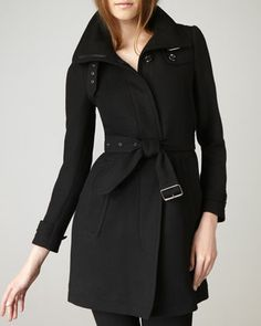 Rushworth Coat by Burberry Brit at Neiman Marcus.
