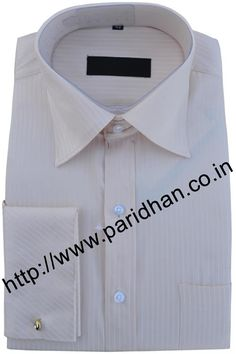 Fashionable mens shirt made in cotton fabric.