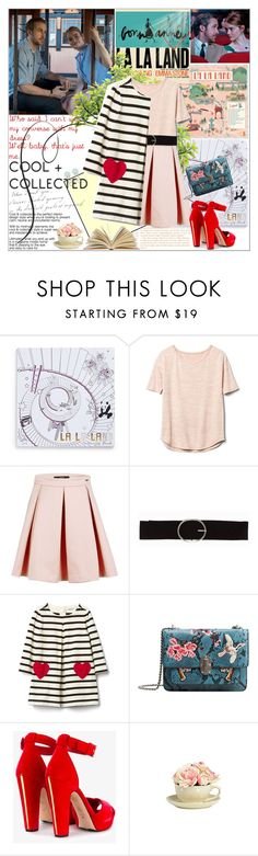 """""""Untitled #1734"""" by ladybird-fb ❤ liked on Polyvore featuring La La Land, Gap, Vero Moda, MANGO, Alexander McQueen, Garance Doré, House of Fraser and Clips"""