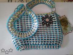 awesome 100 manualidades con anillas de latas / 100 Can tabs - pop tabs crafts #recycle #reciclar #handmade #homemade #diy Check more at http://javies.com/2014/03/14/100-manualidades-con-anillas-de-latas/