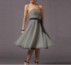 Maid of honor dress grey    £18.06
