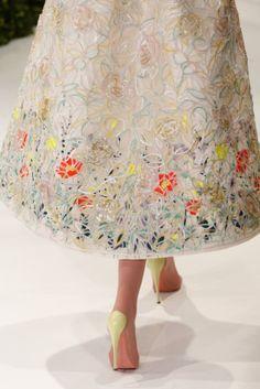 Paris Couture Fashion Week: Christian Dior Couture Spring 2013