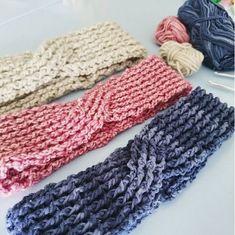 Crochet Rib Turban Headband - free pattern in English and Dutch by Crafty Queens