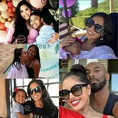 Kobe Bryant Family, Kobe Bryant Nba, Cute Family, Beautiful Family, Kobe Brian, Famous Celebrities, Celebs, Kobe Mamba, Kobe Bryant Pictures