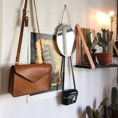 • Envelope Bag • In Walnut