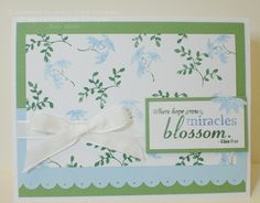 FS178 - Miracles Blossom 4 Card Ministry - Stamps from Gina K Designs - made in 2010