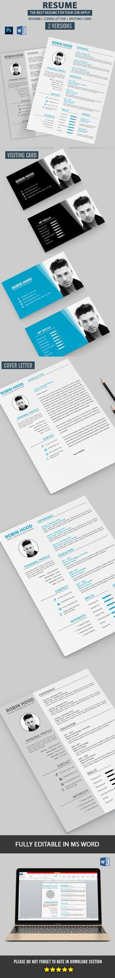 Resume Resume and Stationery - templates for resumes microsoft word