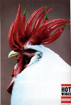 Hot Wings Advert