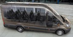 With an updated range of engines, ford transit is the most reliable and practical van among rivals Minivan, 12 Passenger Van, Luxury Van, Transit Custom, 4x4, Van Car, Top Luxury Cars, Ford Transit, Cute Cars