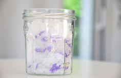 Sali da bagno alla violetta