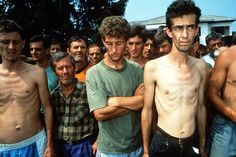 11 Aug Manjaca, Prijedor - Bosnia and Herzegovina --- Bosniak (mainly) and Croatian civilians in Serb Concentration Camp During Bosnian Genocide Siege Of Sarajevo, Civil Wars, World Leaders, Documentary Photography, Bosnia And Herzegovina, Best Cities, Cold War, 1990s, Croatia