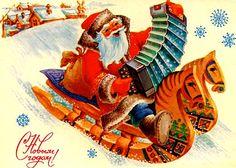 .Kerstman en accordeon