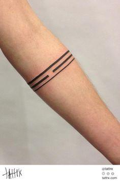 Galya Gisca - Arm Band tattoo