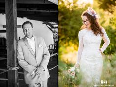 Solo photos of Bride and Groom during rustic wedding at spanish-style ranch #weddingphotography / top local wedding photographers