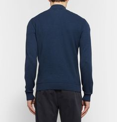 This <a href='http://www.mrporter.com/mens/Designers/Loro_Piana'>Loro Piana</a> sweater showcases the label's dedication to quality. Crafted in Italy from a fine cotton, silk and cashmere-blend, it's designed with a sporty half-zip neckline that fits easily over collared shirts. Wear yours with neat trousers and sneakers for a quietly considered look.
