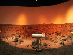 Would you like to go to Mars one day? Our MarsScape will certainly help tomorrow's astronauts imagine standing on the Red Planet.