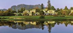 The Fancourt Hotel, George, South Africa.  What a lovely place!