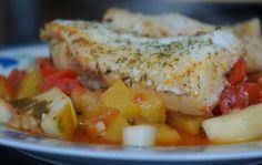 Ryba po prowansalsku wg Gordona Ramsay'a Gordon Ramsay, Fish And Seafood, Eating Well, Mashed Potatoes, Good Food, Food And Drink, Cooking, Ethnic Recipes, Whipped Potatoes