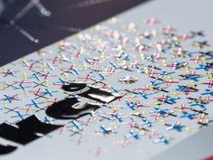 3D spot UV   #innovariant #3d #uv #printing #colors #press