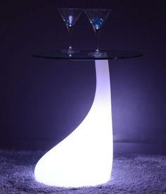Table de chevet lumineuse led MELT