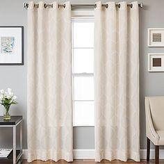 Marlene Grommet Top Window Curtain Panel