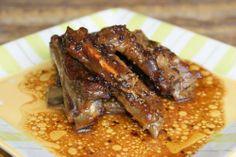 Varomeando: Costillas de cerdo con salsa de miel y mostaza