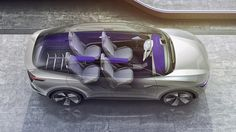 Volkswagen's I. line of electric cars to begin production from November Volkswagen has been showing off its I. line of concept electric vehicles for a couple of years now, but we won't have to wait long. Gadgets And Gizmos, Tech Gadgets, Cool Gadgets, Volkswagen, Shanghai, Electric Crossover, D Line, Automobile Industry, New Technology