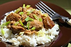 Filipino Chicken Adobo, cooked in the slow Cooker!