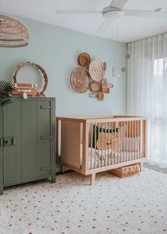 Our Favourite Room Reveals of 2019 – Hunter & Nomad Baby Room Design, Baby Room Decor, Baby Bedroom, Kids Bedroom, Nursery Inspiration, Interior Inspiration, Nursery Ideas, Room Ideas, Rattan Furniture