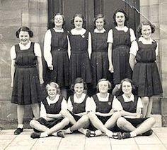 school uniform 50's