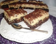 Negresa cu crema de vanilie si lamaie Romanian Food, Tiramisu, Bakery, Sweets, Ethnic Recipes, Desserts, Festive, Tailgate Desserts, Deserts