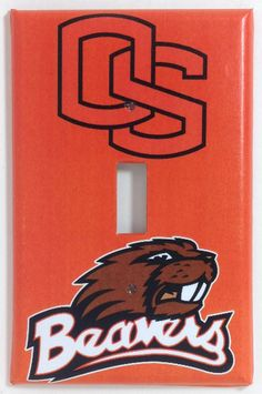 6 Inch OSU Benny The Beaver Decal Mascot Logo Oregon State Beavers University Removable Wall Sticker Art NCAA Home Room Decor 5 by 5 1//2 Inches