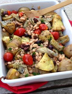 "Hot off the blog!: Chickpea and Artichoke ""Bliss in a Dish"""