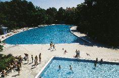 Freizeit in München Freibad Ungererbad Schwimmbecken