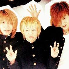 Shinya, Kyo, and Toshiya