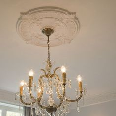 Visit our online shop for a fantastic choice of lightweight Victorian ceiling roses, cornice, coving, dado rails, door architraves. Ceiling Rose, Ceiling Decor, Baroque, Molding Ceiling, Orac Decor, Dado Rail, Small Hallways, Architrave, Ceiling Height