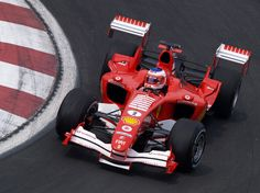 Ferrari F2005 with the prototypical DGR wing