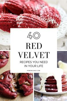 We are team red velvet for life! We absolutely cannot resist a red velvet dessert. #redvelvet #dessert #valentines #valentinesday